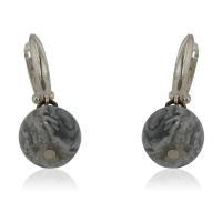Сребърен пръстен с голям кръгъл камък 52.00 лв.